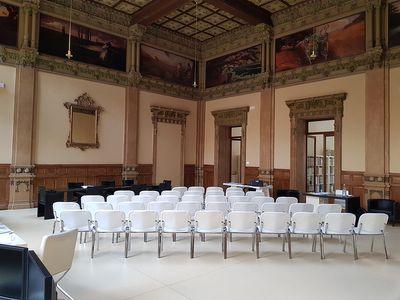 sale meeting e location eventi Reggio Emilia - Salone Tirelli - Becquerel Electric