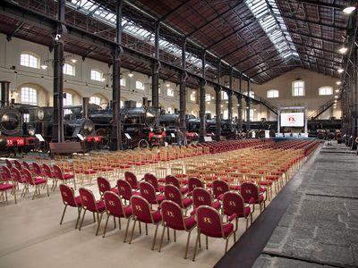 sale meeting e location eventi Napoli - Fondazione FS - Museo di Pietrarsa
