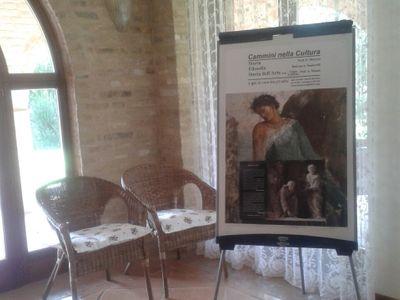 Sala del Camino con portico e giardino foto 1
